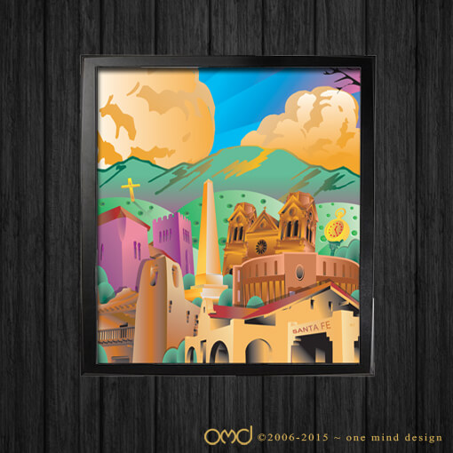 Santa Fe Arts Commission - Vector Poster Design