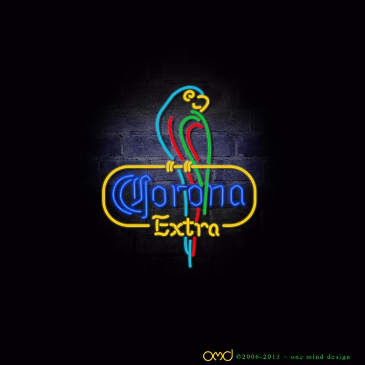 Corona Extra (Neon Sign Logo) - January 2015