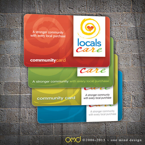 "Locals Care - ""Buy Local"" Membership Cards"