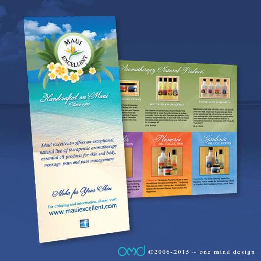 Maui Excellent - 4 Panel Brochure