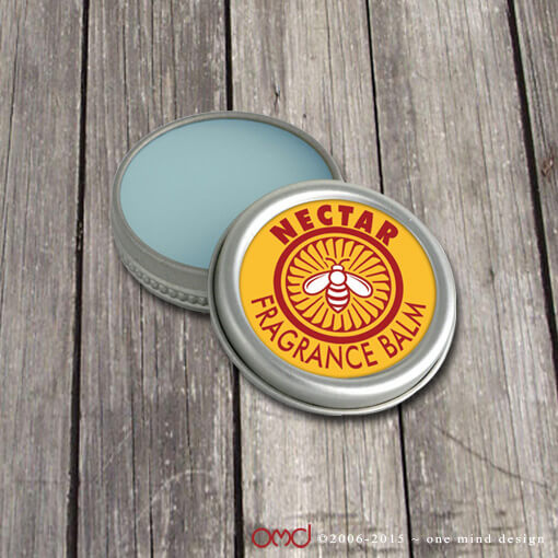 Nectar Fragrance Balm - Labels