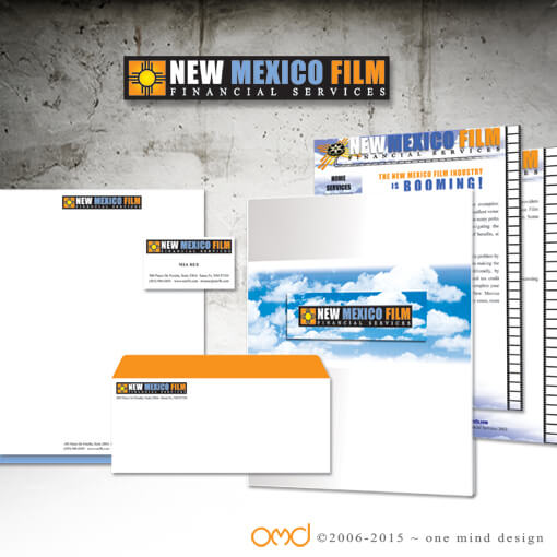 New Mexico Film - Logo Design and Printed Materials