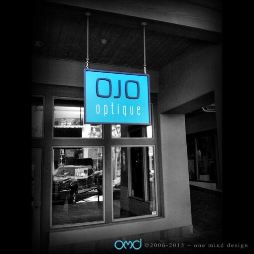 Ojo Optique - Storefront Signage