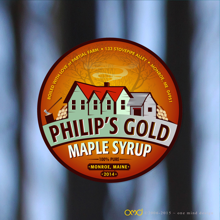 Philip's Gold Maple Syrup - December 2013