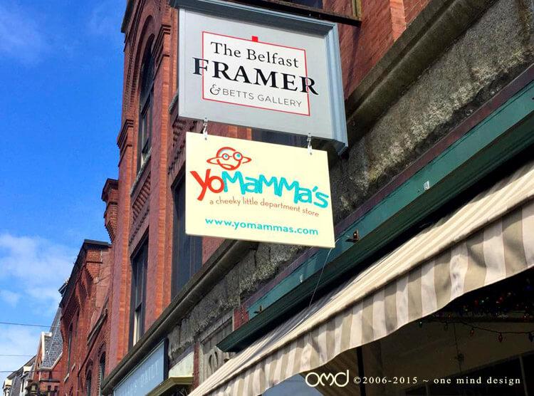 Yo Mamma's - Storefront Signage